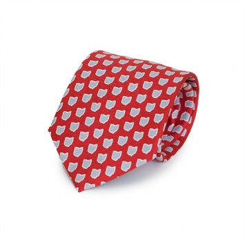 Red OH Gameday Tie